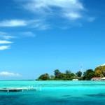 Pantai di pulau pramuka