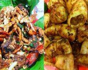 Seafood yang lezat