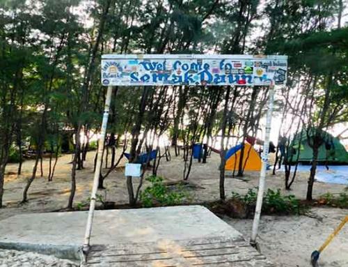 Sensasi Camping di Pulau Semak Daun Kepulauan Seribu