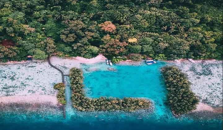penginapan di pulau kotok