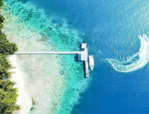 Pantai Pulau Bira dengan Pasir Halus dan Air Jernih
