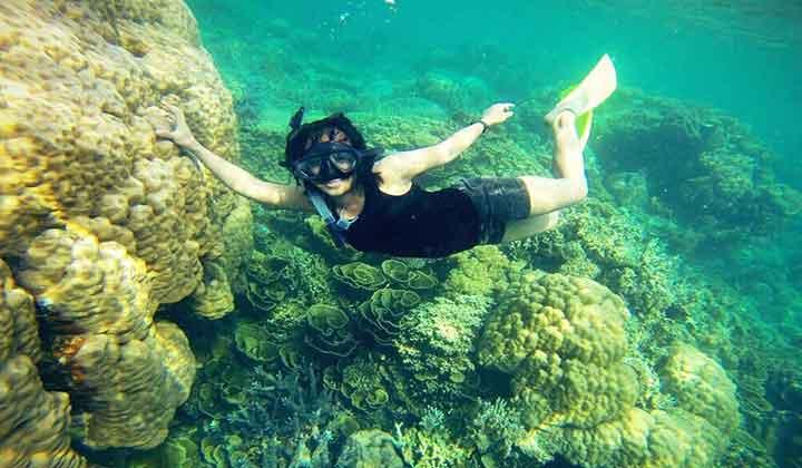 snorkeling Pulau Gosong Perak
