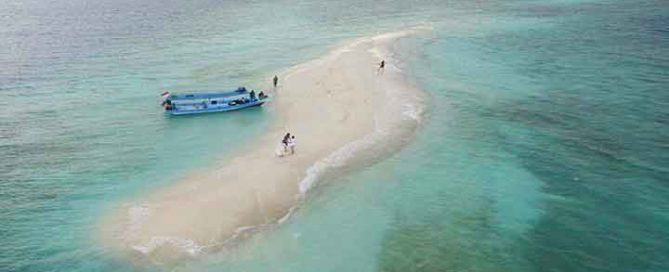 backpackeran ke pulau Seribu